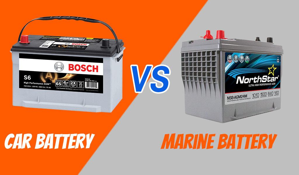 Car Battery vs. Marine Battery