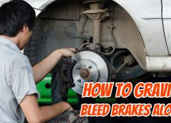 How To Gravity Bleed Brakes Alone